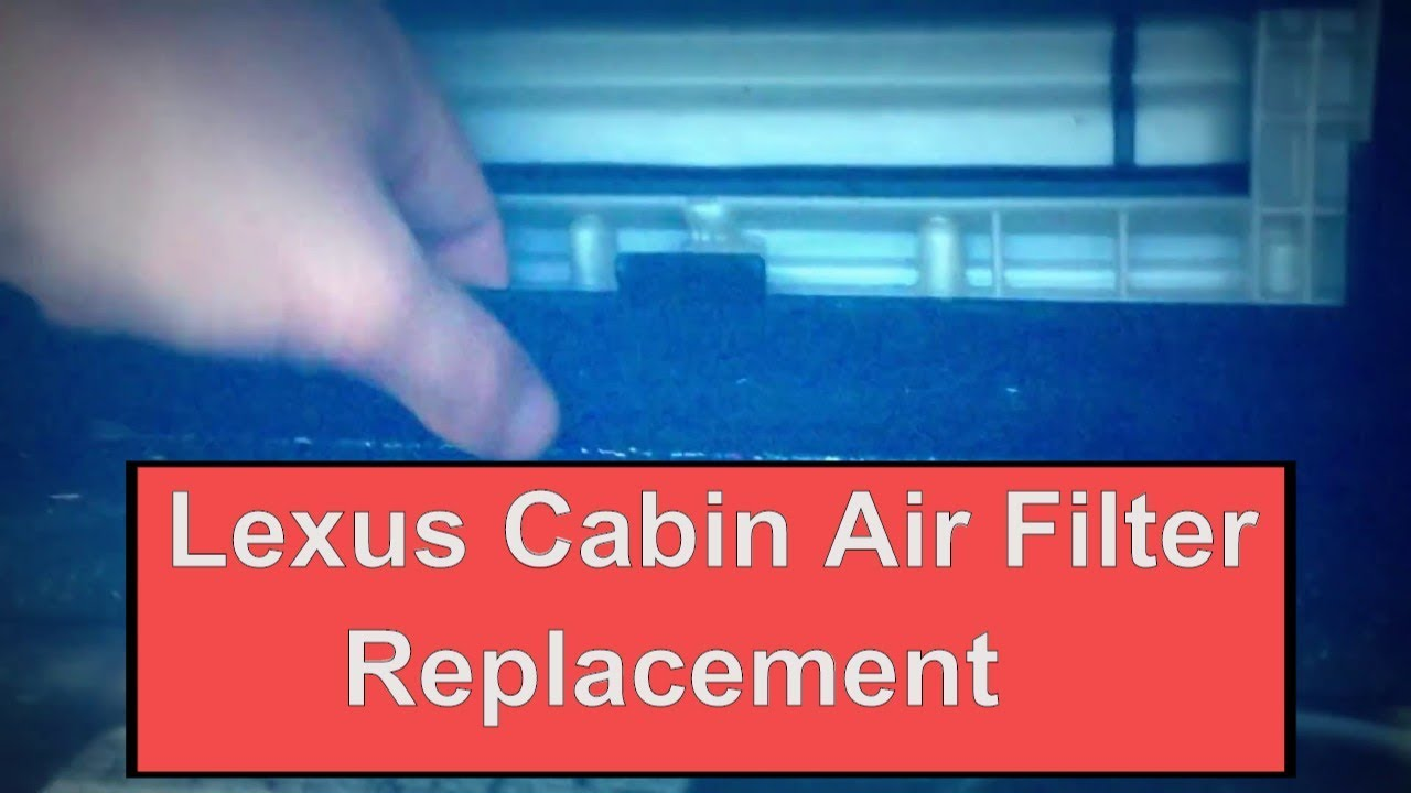 How to replace cabin air filter in 2006 2011 lexus is250 for Lexus is250 cabin air filter