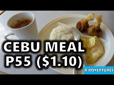 Cost of Filipino Meals, ATMs, Cebu City, Philippines S3, Travel Vlog #113