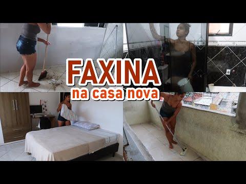FAXINA COMPLETA NA