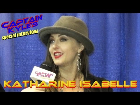 Katharine Isabelle - Captain Kyle Special Interview