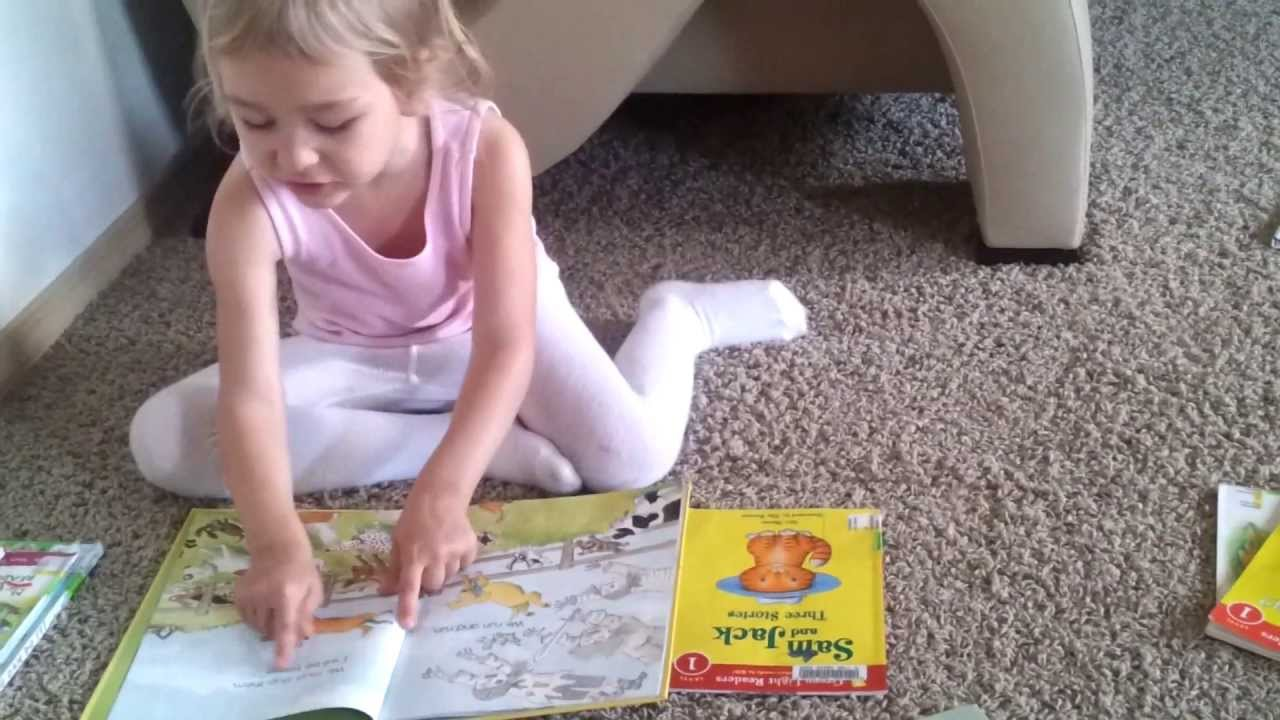 4 year old kids learning reading a book teach my preschooler