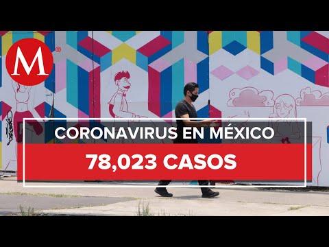 En un día, México suma 463 muertes por coronavirus y 3 mil 463 casos