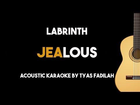 Labrinth - Jealous (Acoustic Guitar Karaoke Backing Track with Lyrics)