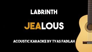 Labrinth - Jealous (Acoustic Guitar Karaoke Backing Track with Lyrics)