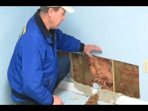 Drying Wet Walls - Removal, Flooded Basement Cleanup ...