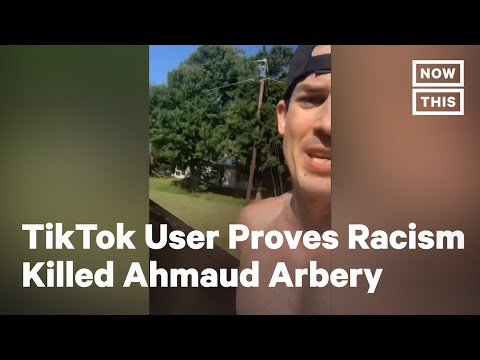 White Man Runs with TV to Prove Racism Killed Ahmaud Arbery | NowThis