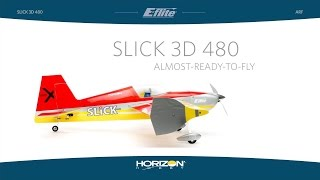slick 3d 480 arf by e flite