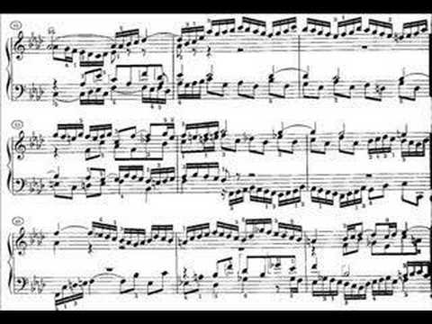 Richter plays Bach: WTC1 No. 17 in A flat major BWV 862
