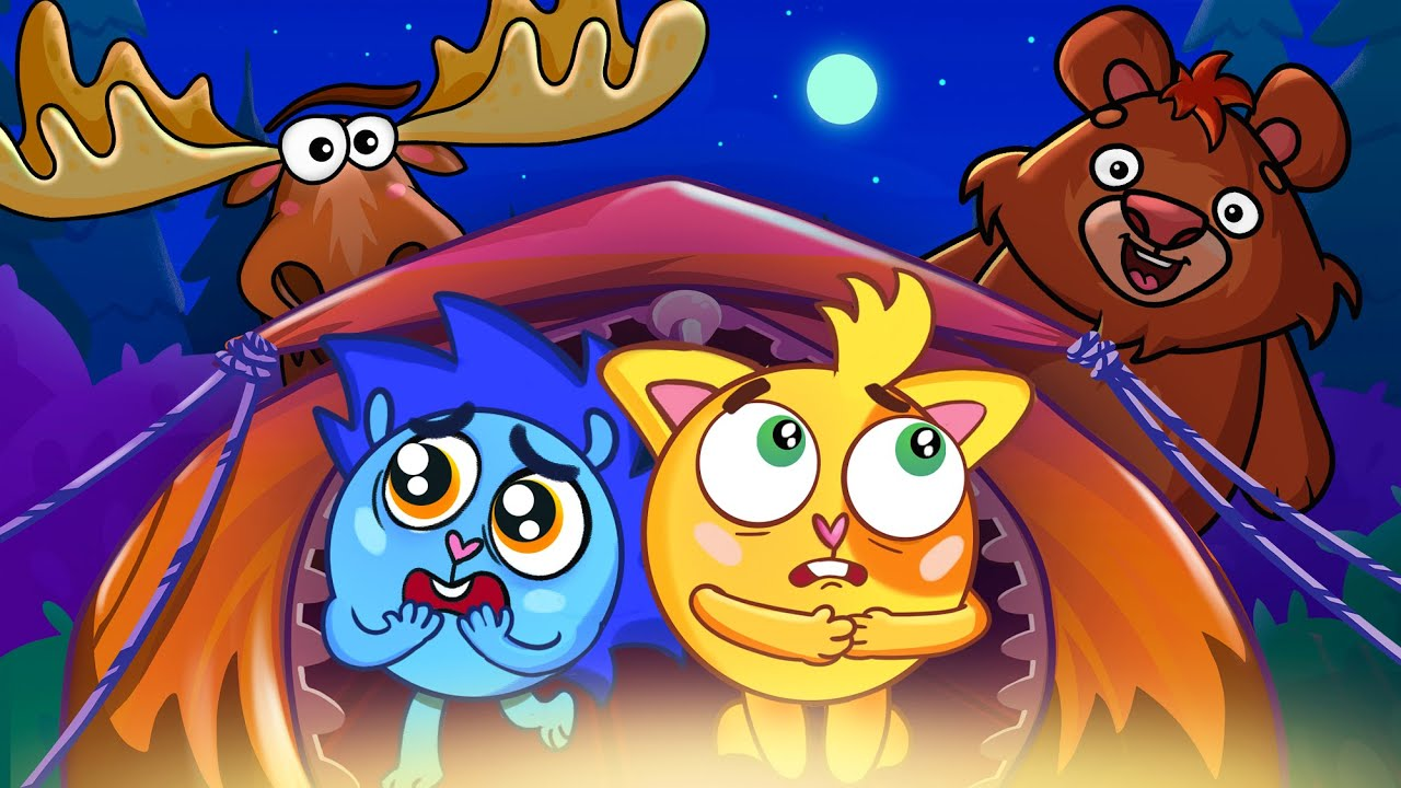 Camping Song ⛺️🍡🔥 | Baby Zoo Kids Songs 😻🐨🐰🦁 And Nursery Rhymes