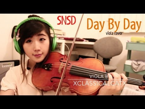 SNSD / 소녀시대 ~ Day By Day *viola cover*