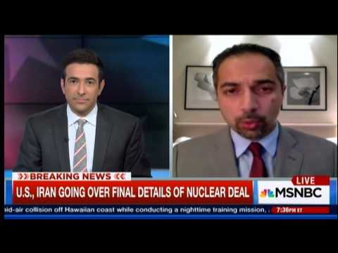 Trita Parsi with Ari Melber on prisoner swap / Iran nuke deal
