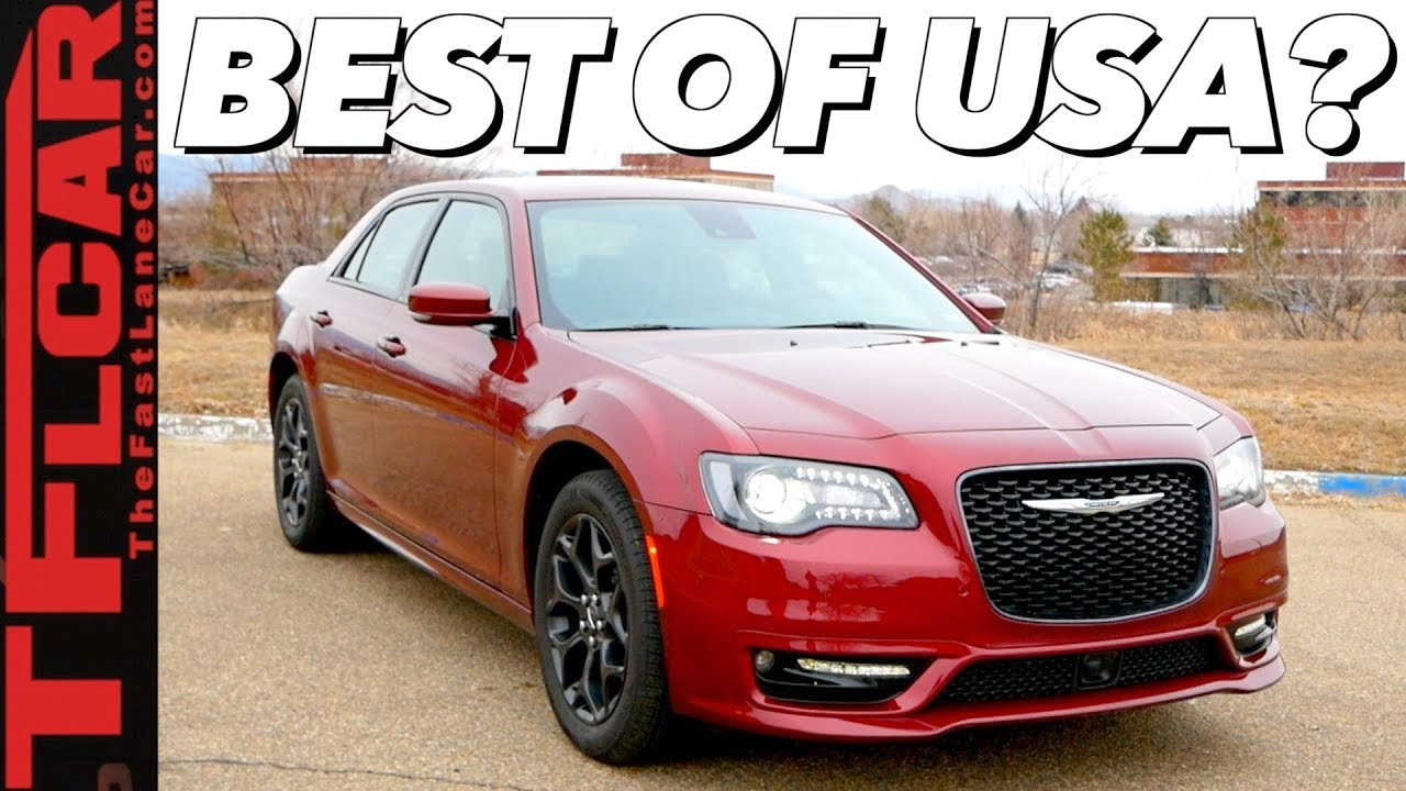 The 2019 Chrysler 300 is the Most American Sedan You Can Buy Today!