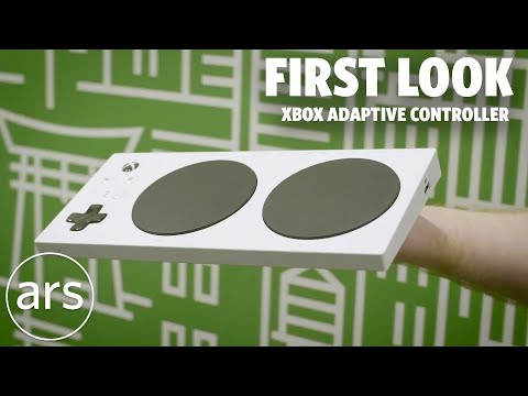 First Look: Xbox Adaptive Controller | Ars Technica