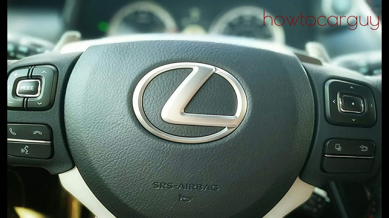 Lexus Es350 Steering Wheel Controls Review Youtube