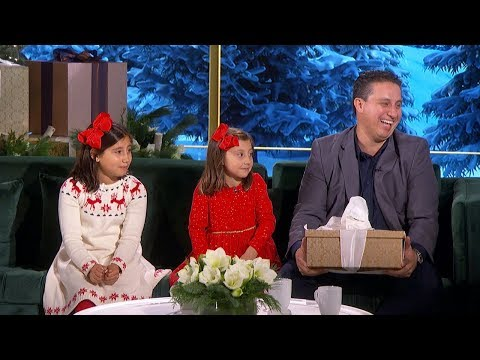 Ellen Gives Life-Changing Present to Single Dad