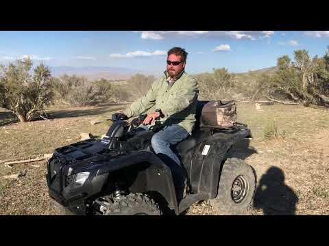 Breaking in the 2017 Honda Rancher 420!