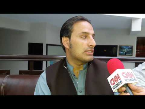 Interview Muhammad Yasir Khan Fairy Land Hotel Kàghan vally by Dr Naveed Bearuchief cnn urdu us