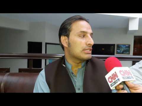 Interview Muhammad Yasir Khan Fairy Land Hotel Kàghan vally by Dr Naveed Bearuchief cnn urdu us