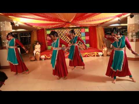 Shamma and Himel's  Holud Dance