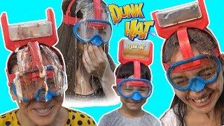 DUNK HAT CHALLENGE !! Yumurta Kimin Kafasına Kırıldı? Funny water game With. Bidünya Oyuncak