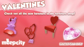 ARRIVED SAN VALENTIN TO MEEPCITY! ROBLOX