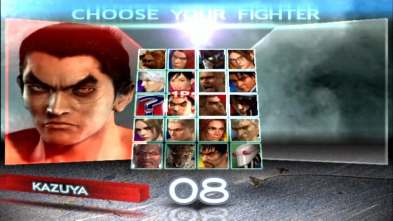 Tekken 4 Kazuya Mishima Youtube