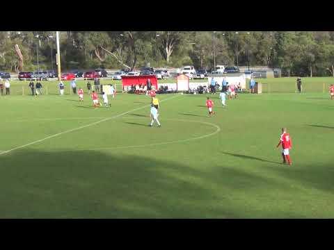 u13 ECU NPL vs Perth SC 300618 - 1st half