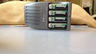 Energizer 15 Minute Charger Flashing Red Light SOLUTION FOUND!