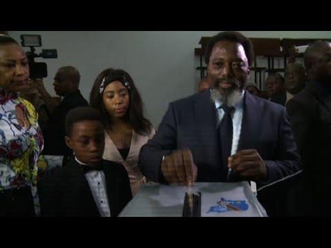 DR Congo election: Shadary and Kabila their votes