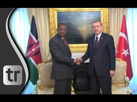 Premier Erdoğan empfängt Kenias Präsident Mr Uhuru Kenyatta in Ankara Turkey 2014