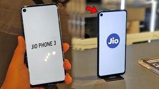 JIO का धमाकेदार SMARTPHONE | JIO PHONE 3 NEWS DSLR Camera, 5G, Low Price Smartphones 2019