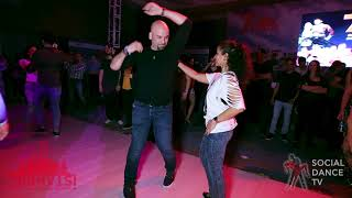 Dj Sezar & Magna - Salsa social dancing | Istanbul Int. Dance Festival 2018