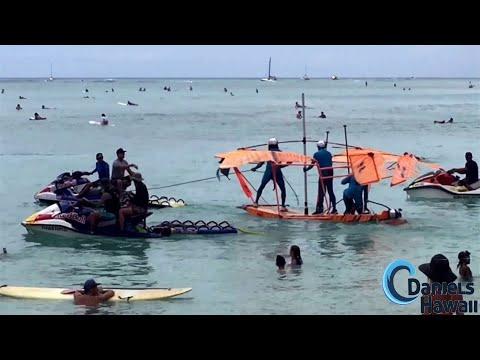 Red Bull Party Wave 2016 - dukes festival Waikiki,surfing Waikiki beach RedBull costume event Hawaii