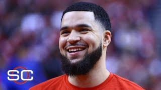 Toronto raptors point guard fred vanvleet's performance on the court has improved during 2019 nba playoffs following birth of his son, fred. jr.✔ sub...