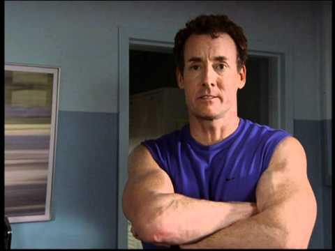 Scrubs Commentary- Johnny C's work out advice - YouTube