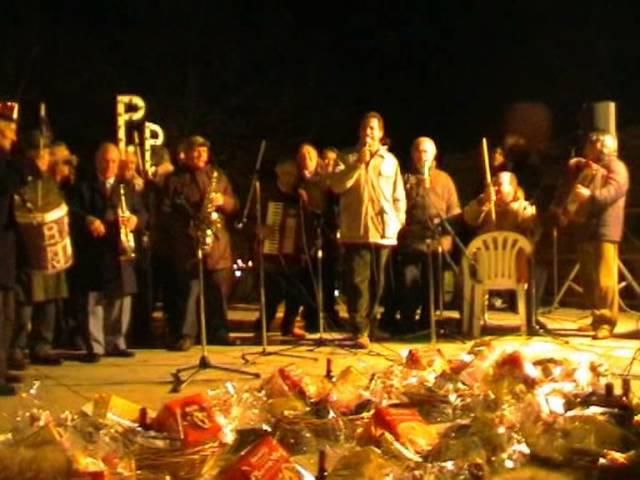 Gambatesa 1-1-2005: maitunat Pietro Abiuso e Pasquale Vezza