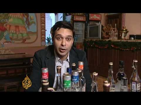 Russia battling with alcohol abuse - 01 Jan 10