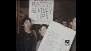 Geoffrey Blainey Targeted by Activists After Criticising Asian Immigration (1984)