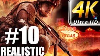 Rainbow Six Vegas - Realistic Walkthrough - (PC-4K) Part 10 - Nevada Dam 1/2