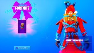 New Merry Munchkin Dabs When You Get A Kill ! | 160+ Wins *Pro Fortnite Player* | Giveaway At 2.5k!