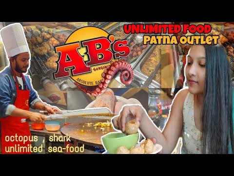 Absolute Barbecues Patna Unlimited Buffet In Just 649₹ || Best Seafood Buffet Restaurant #ABspatna