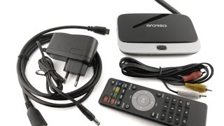 SMART TV Android BOX приставка Q7 CS918 Full HD
