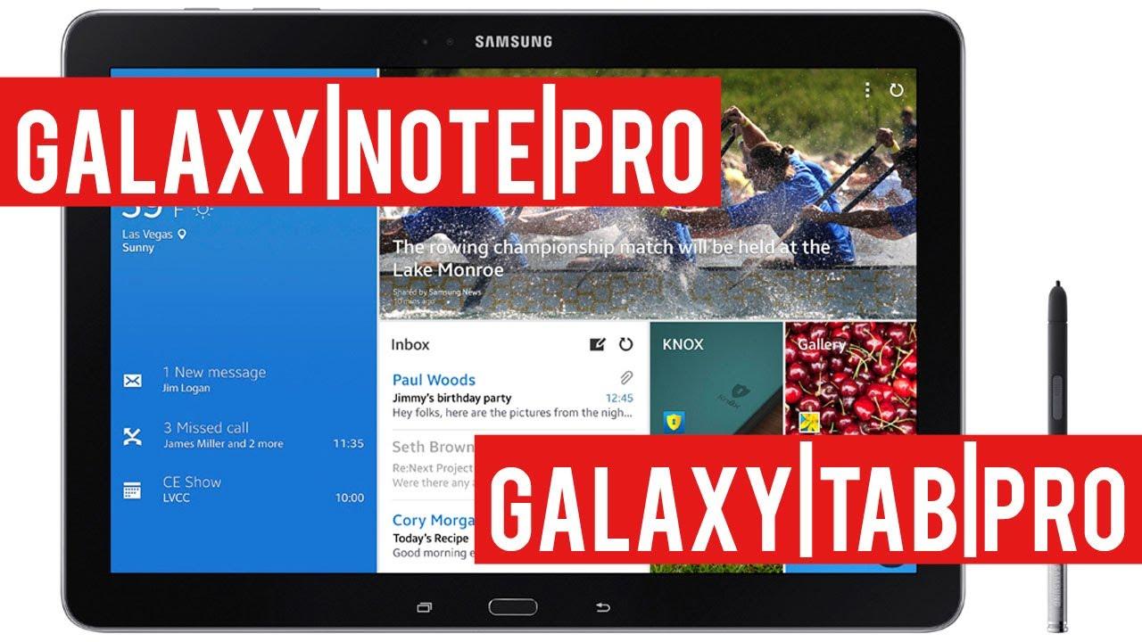 Samsung GALAXY NotePRO i TabPRO - polska premiera tabletów | Komputer Świat