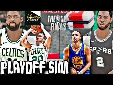 WHAT IF NOBODY WAS INJURED IN THE 2018 PLAYOFF SIMULATION ON NBA2K18!!!