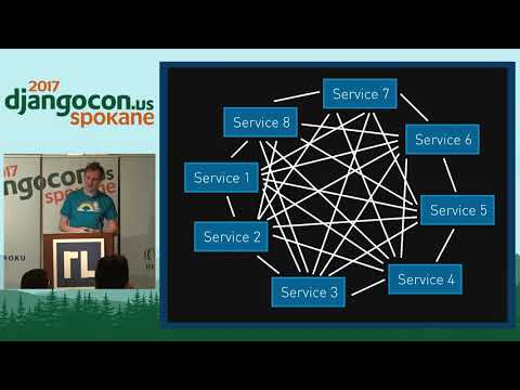 DjangoCon US 2017 - Taking Django Distributed by Andrew Godw