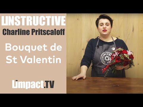 Bonjour les Fleuristes - Bouquet Saint Valentin - Charline PRITSCALOFF #2