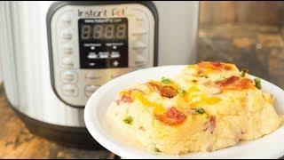 Instant Pot Twice Baked Potato Casserole Recipe