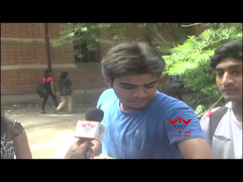 GANDHIGIRI IN M.S.UNIVERSITY, BARODA - VTV