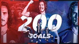 LES 200 BUTS D'EDINSON CAVANI AU PARIS SAINT-GERMAIN 🔴🔵