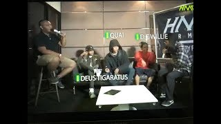 Hearmeouttv Interview x Cypher Eps 07 [ DEUSTIGARATUS x QUAI x DC WILLIE ]